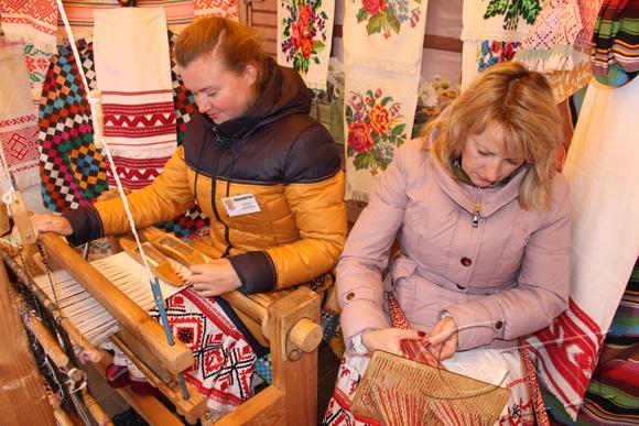 ■ Мастер-класс от Копыльского районного Центра ткачества