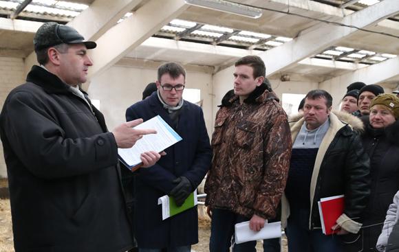 ■ Рекомендации по содержанию дойного стада дает Виталий Ракевич