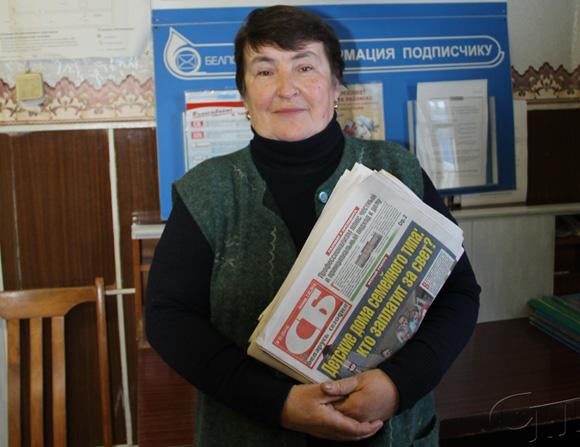 Жизненная дорога Галины Сологуб неразрывно связана с развитием отделения почтовой связи «Ванелевичи»