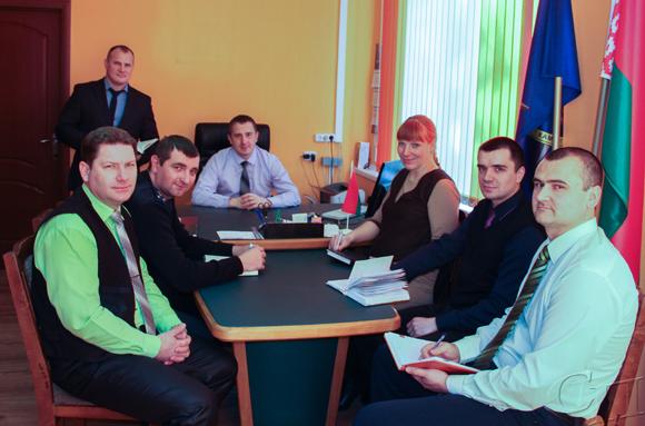 Копыльский районный отдел следственного комитета вошел в тройку лучших следственных подразделений Минщины