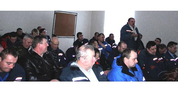 В Копыльском районе газоснабжения филиала «Солигорскгаз» РУП «Минскоблгаз» состоялась встреча с представителями власти