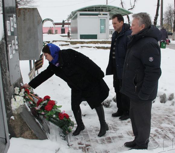 ■ Возложение цветов к памятнику воинам-интернационалистам в г. Копыле
