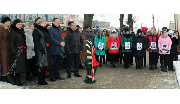 В Копыле прошел митинг-реквием, посвященный Дню памяти воинов-интернационалистов