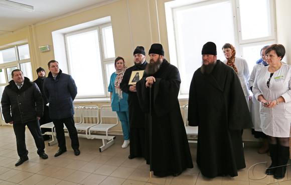 Епископ Слуцкий и Солигорский Антоний с рабочим визитом посетил Копыльский район