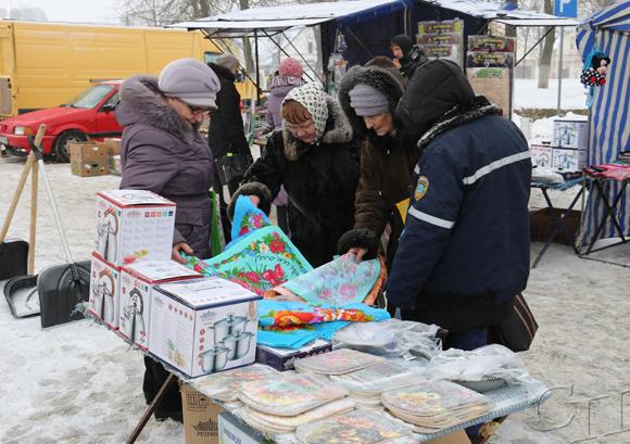 7-8 марта на площади Ленина города Копыля прошли праздничные ярмарки