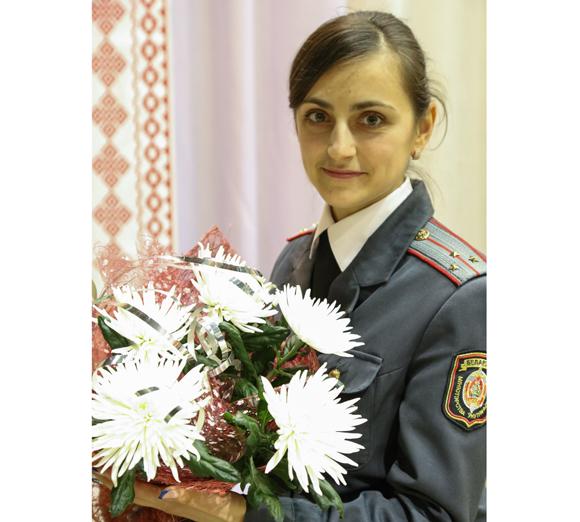 Еще со школы Светлана Иванова хотела работать в милиции