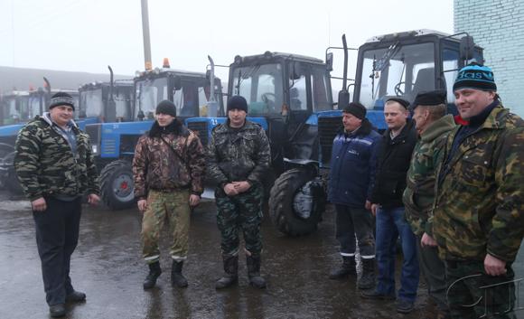 ■ Механизаторы ОАО «Скабин» к техосмотру готовы