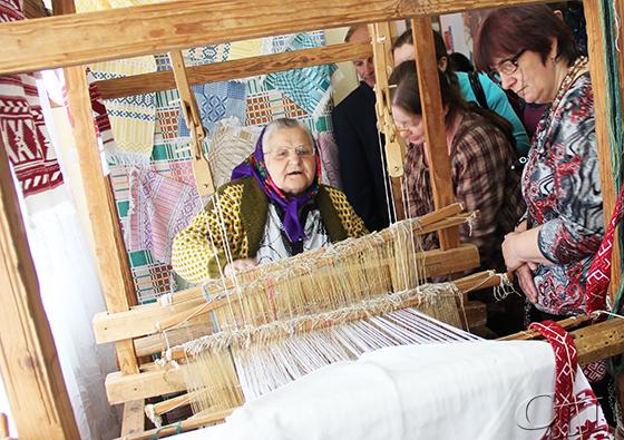 Мастер-класс от копыльских ткачих