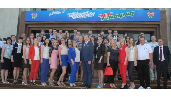 В столичном концертном зале «Минск» прошел 43-й съезд Белорусского республиканского союза молодежи