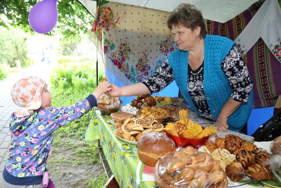 В агрогородке Ванелевичи прошел праздник деревни