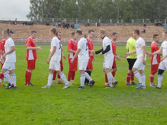 Футбольная команда Копыля закончила свое участие в Кубке Минской области