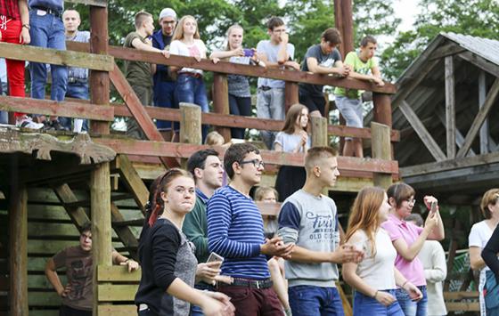Молодежь Копыльского благочиния приняла участие в IV православном молодежном слете Слуцко-Солигорской епархии «Соль земли»
