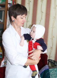 ■ Врач-педиатр (заведующий) педиатрическим отделением Копыльской ЦРБ Наталья Нарейко