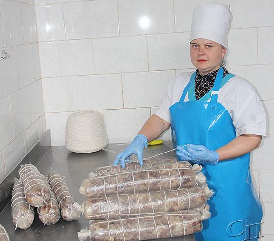 ■ Обвальщик мяса Марина Карпович