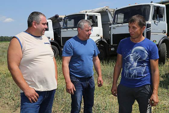 ■ Водители Егений Шумский, Владимир Борисовец, Сергей Лазюк