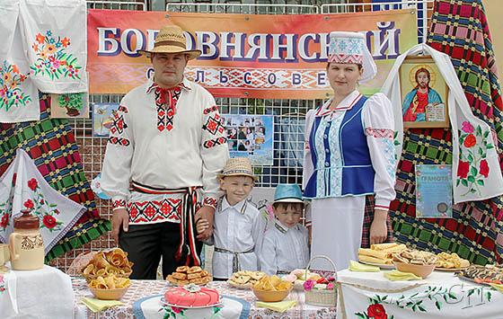 ■ Сям'я Вольгі і Дзмітрыя Калевічаў з Бабаўняскага сельсавета