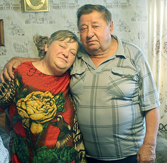 ■ Аляксандр Феафанавіч і Мальвіна Пятроўна Бельмачы