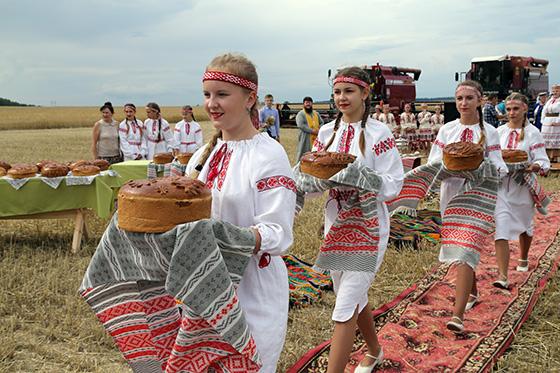 13 июля старт уборочной кампании дал традиционный районный праздник «Зажинки-2018»