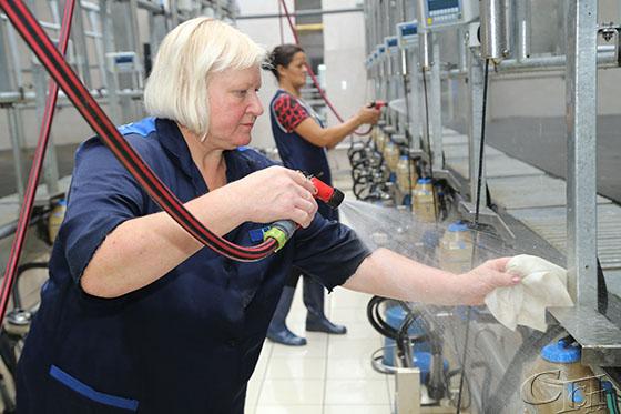 В Копыльском районе введен в строй молочнотоварный комплекс «Грозово»