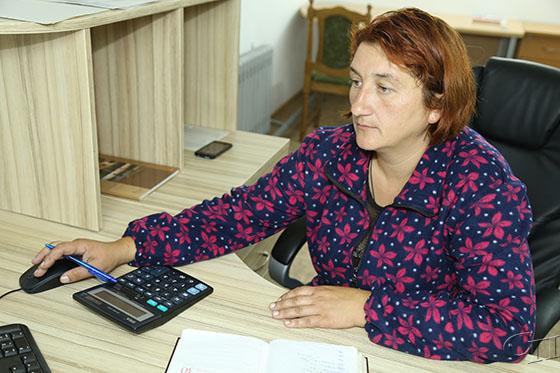 ■ Бригадир производственной бригады в животноводстве МТК «Грозово» Ирина Бойко