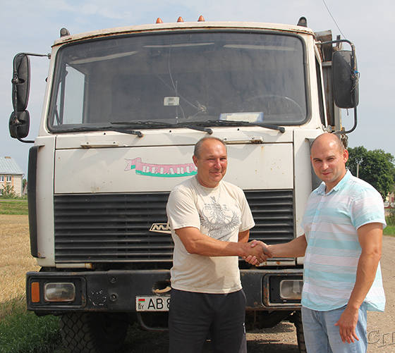 Есть водитель-тысячник и в ОАО «Копыльское»