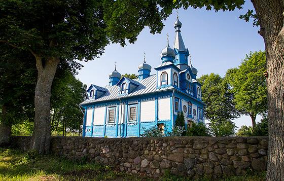 Сегодня в Копыльском благочинии в храме Святой Живоначальной Троицы д. Телядовичи проходит празднование 220-летия Храма