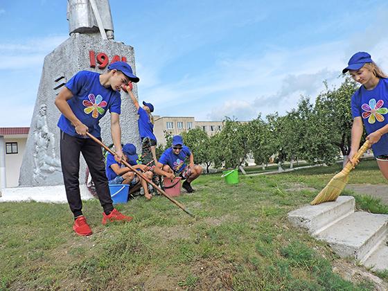 ■ Волонтерский отряд «Данко» Копыльского государственного колледжа