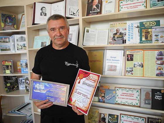 Николай Майсюк из Копыльского района стал победителем II Международного фестиваля «Ветер удачи» в номинации «Поэзия»