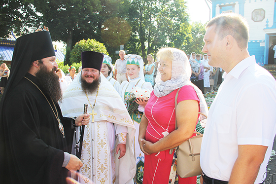 Храм Святой Животворящей Троицы в д. Телядовичи Копыльского района отметил свой 220-летний юбилей