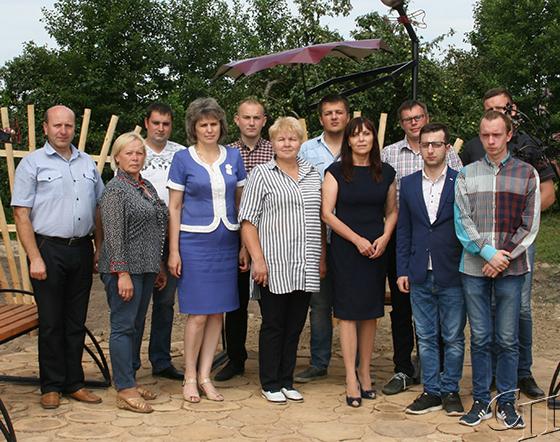 Депутат парламента Людмила Нижевич встретилась с молодежью Копыльского сельсовета