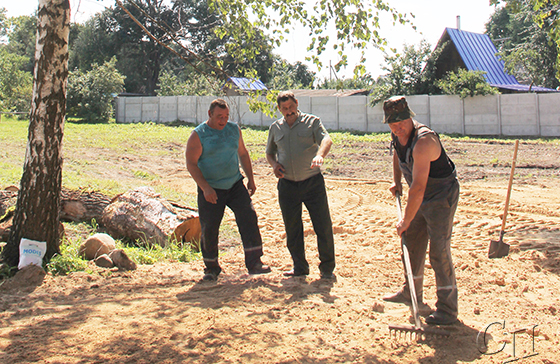 Зону отдыха создает Копыльский опытный лесхоз