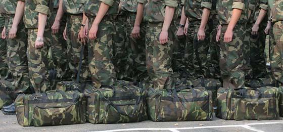 Об организации призыва граждан на срочную военную службу, службу в резерве в августе – ноябре 2018 года