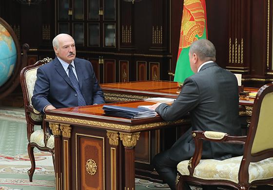 Александр Лукашенко обсудил с Макеем ситуацию во внешнеэкономической деятельности и график международных встреч