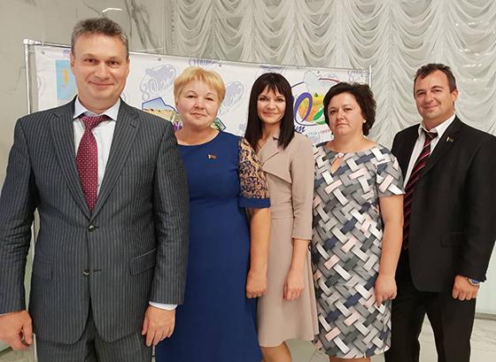 Делегация Копыльщины приняла участие в праздновании 80-летия Оренбургского района (Россия)