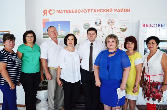 Делегация Копыльского района приняла участие в праздничных мероприятиях в Матвеево-Курганском муниципальном районе