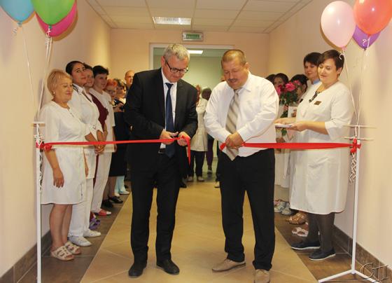 Состоялось открытие после капитального ремонта клинико-диагностической лаборатории в Копыльской ЦРБ