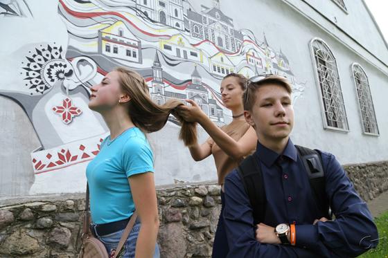 В Копыле прошел молодежный фотоквест «#В_объективе»