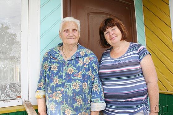 Для Галины Севастьяновны Гурло из г. Копыля социальный работник ГУ «Копыльский ТЦСОН» Лариса Каханович — это не просто работник, а ее верный друг и помощник