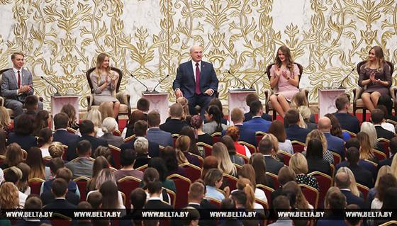 Встреча с активом ОО «БРСМ»:  молодежь Копыльского района приняла участие в форуме, который прошел во Дворце Независимости в Минске
