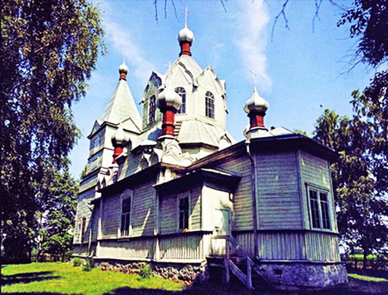церковь крупский район