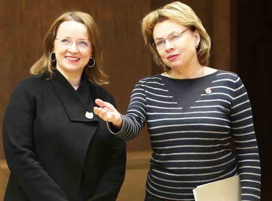 ■ Марианна Щеткина (справа) и Иоанна Казана-Вишневецкий