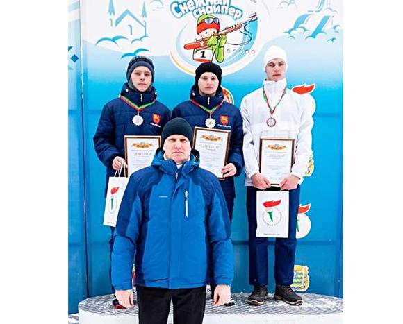 Кирилл Кандыбович из Копыльского района занял ІІІ место в областном этапе республиканских соревнований «Снежный снайпер»