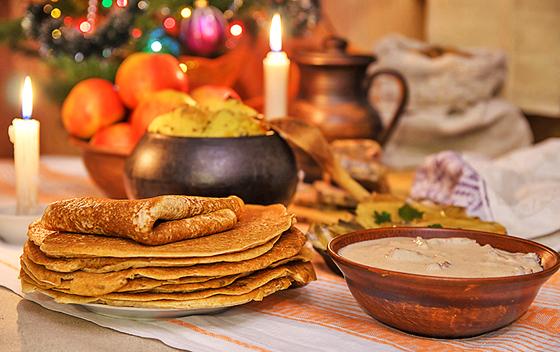 «Вкусные» традиции: что готовили хозяйки Копыльщины к Щедрецу
