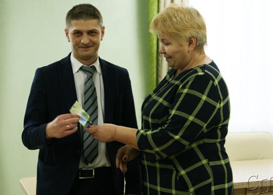 На охране правопорядка: пополнились ряды Копыльской городской добровольной дружины