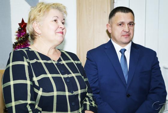 ■ Ирина Кисляк и Сергей Ульдинович
