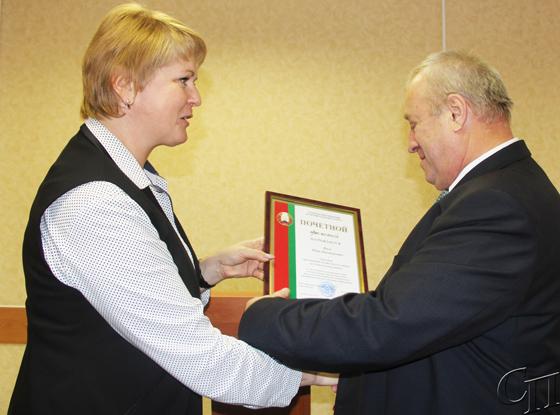 В Представительстве Белгосстраха по Копыльскому району проводили на заслуженный отдых Ивана Янова