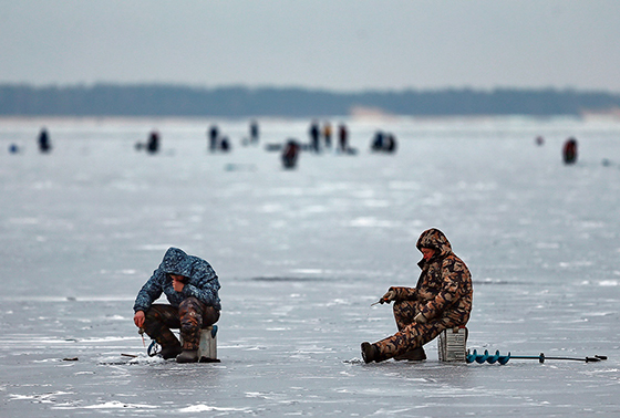 Как обезопасить себя во время зимней рыбалки