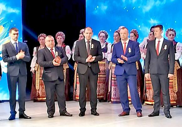 Представители Копыльского района приняли участие в праздновании 100-летнего юбилея Министерства сельского хозяйства и продовольствия