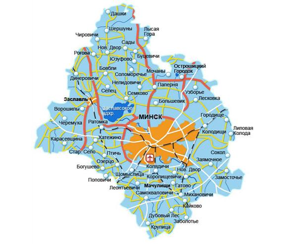 Минщина удивительная: Минский район