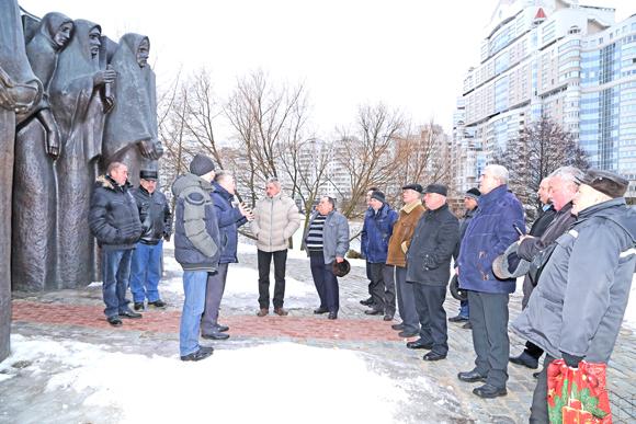 Бывшие воины-интернационалисты Копыльского района побывали в памятных местах